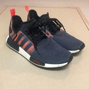 Adidas NMD Stencil Solar/Red Sneakers